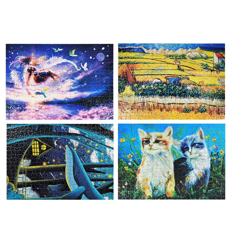 500 Pcs Jigsaw Puzzle for Kids Learning Educational Puzzles Toys Intellectual Home Office Game for Adult