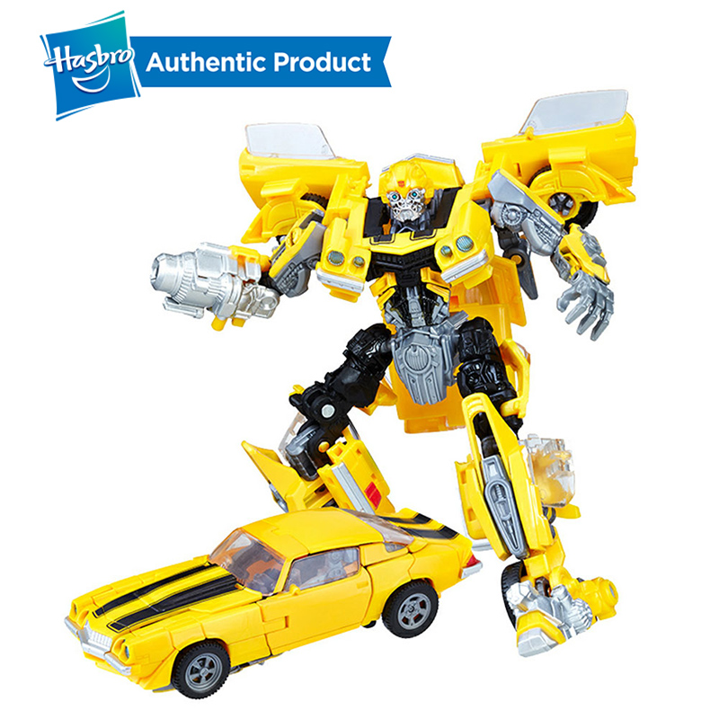 Hasbro Transformers Studio Series Deluxe Class Movie SS01 Bumblebee Decepticon Stinger SS02 Autobot Ratchet Car Toys SS03