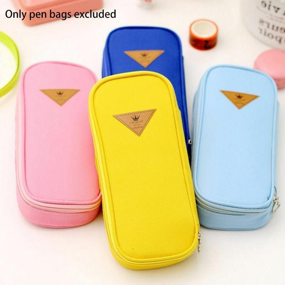 Cute Large Pencil Case Kawaii Multifunctional Pen Case High Capacity Pencil Bag For Kids Girls Gifts School Office Supplies