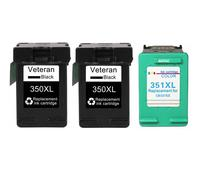 350XL 351XL Patrone Ersatz für HP 350 351 HP350 HP3510 Schwarz Farbe Tinte Patrone Deskjet D4260 4260 D4360 C4200