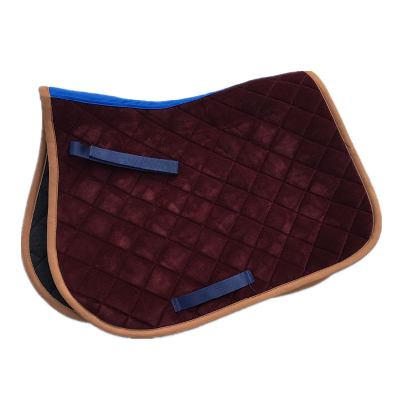 Horse Saddle Pad Horse Riding Equipment Blue Pony Saddle Pad Horse Equestrain  Saddle Cushion