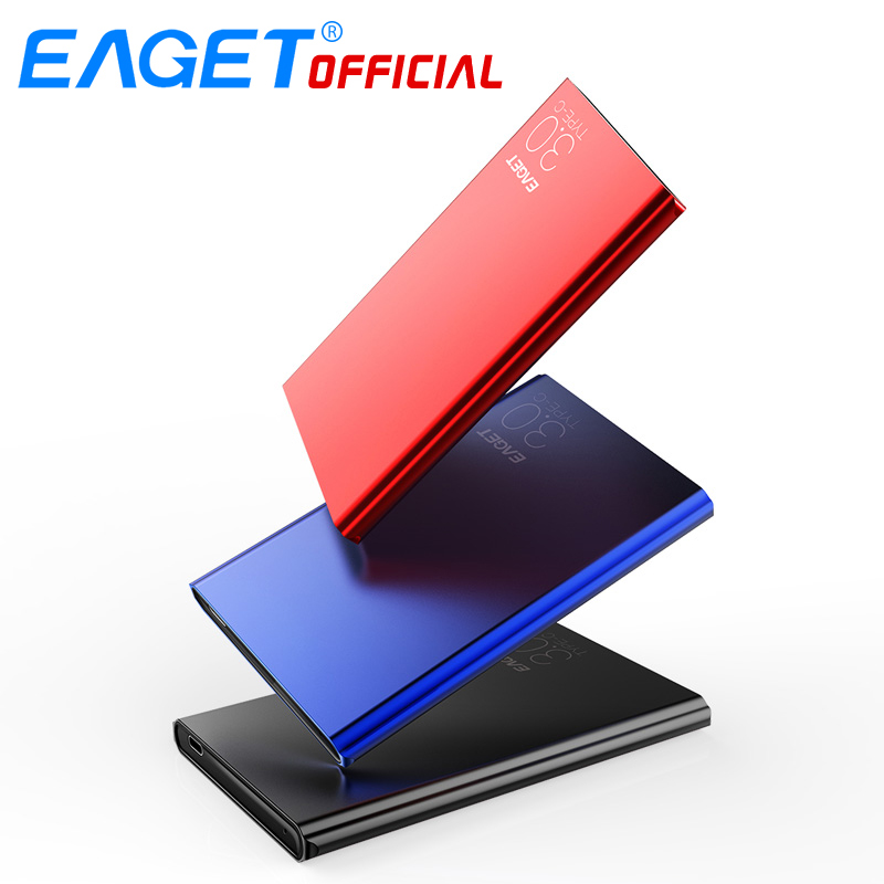 EAGET External Hard Drives <font><b>2TB</b></font> 1TB <font><b>HDD</b></font> High Speed Type C 3.0 Hard Disk Ultra-thin USB C Mobile <font><b>HDD</b></font> for Laptops Desktop image