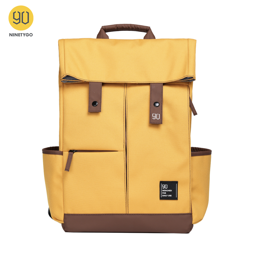 NINETYGO 90Fun College Laptop Backpack Ipx4 Waterproof Large Capacity Knapsack Unisex Fashion 14/15.6 Inch Computer Bag School image