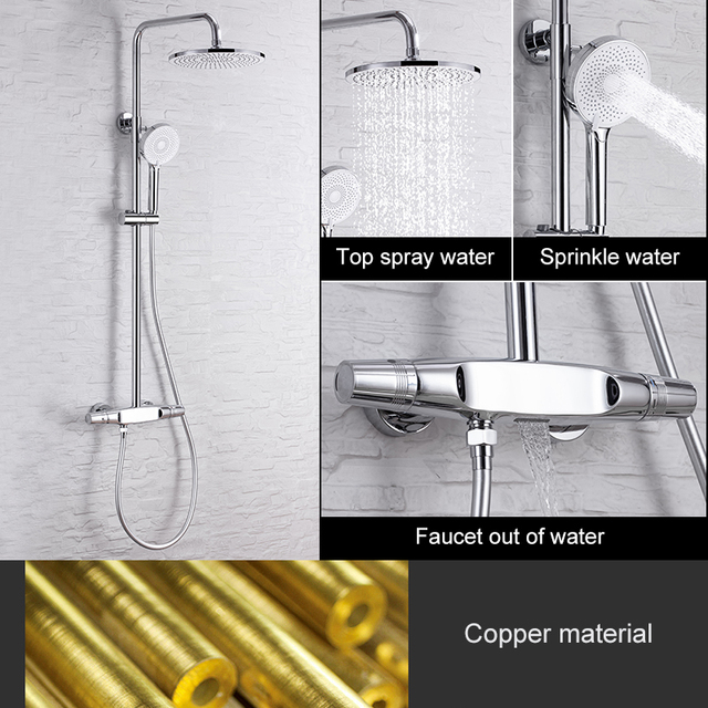 Set of shower faucets 6