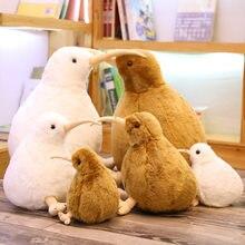Nieuw-zeeland Kiwi Vogel Pluchen Speelgoed Soft Knuffeldier Simulatie Vogels Pop Kinderen Speelgoed Home Decor Kinderen Verjaardag Kerstcadeaus