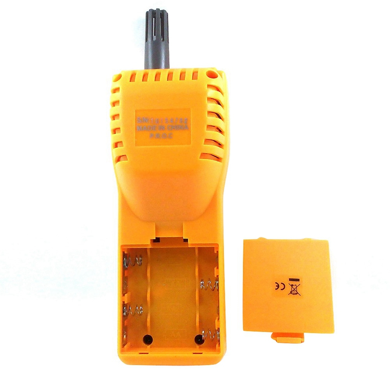 AZ7755 CO2 Gas Detector With Temperature And Humidity Test With Alarm Output Driver Built In Relay Control Ventilation System