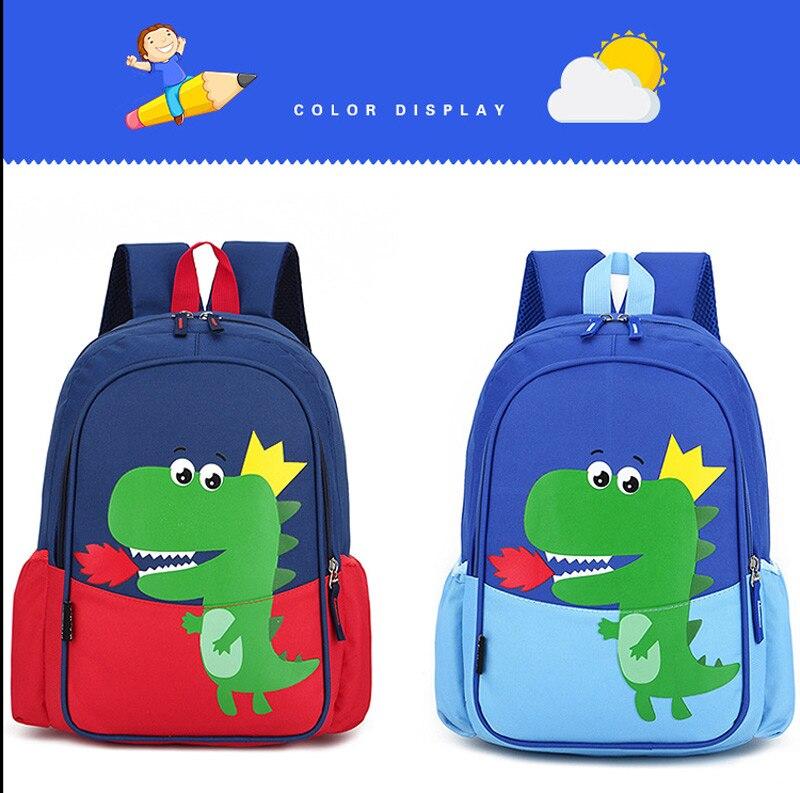 Dinossauro impressão sacos de escola para meninos