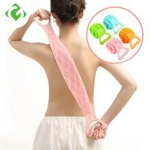 Brushes Body-Massage-Shower Scrubber Bath-Towels Rubbing-Back-Mud Peeling Silicone Magic