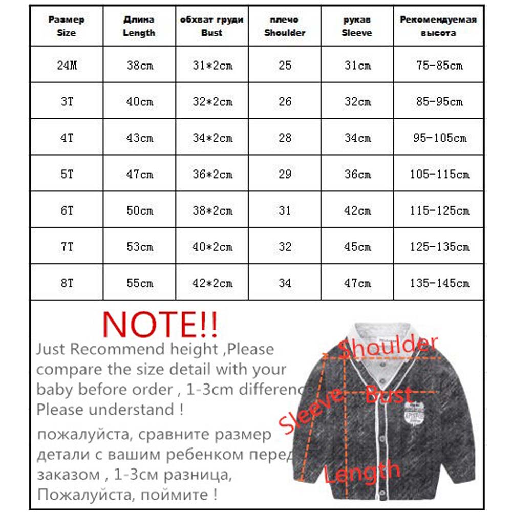 Image 5 - Orangemom Spring New Toddler Sweater Childrens Casual Long Sleeve Turndown Collar Knitwear Baby Sweater Clothes For Boys,1PCSweaters   -