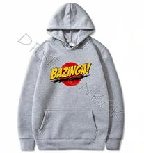 HanHent The Big Bang Theory Hoodies BAZINGA 2020 Male Casual Hoodies Sweatshirts Men and women Sweatshirt Tops A26 футболка стрэйч printio bazinga the big bang theory