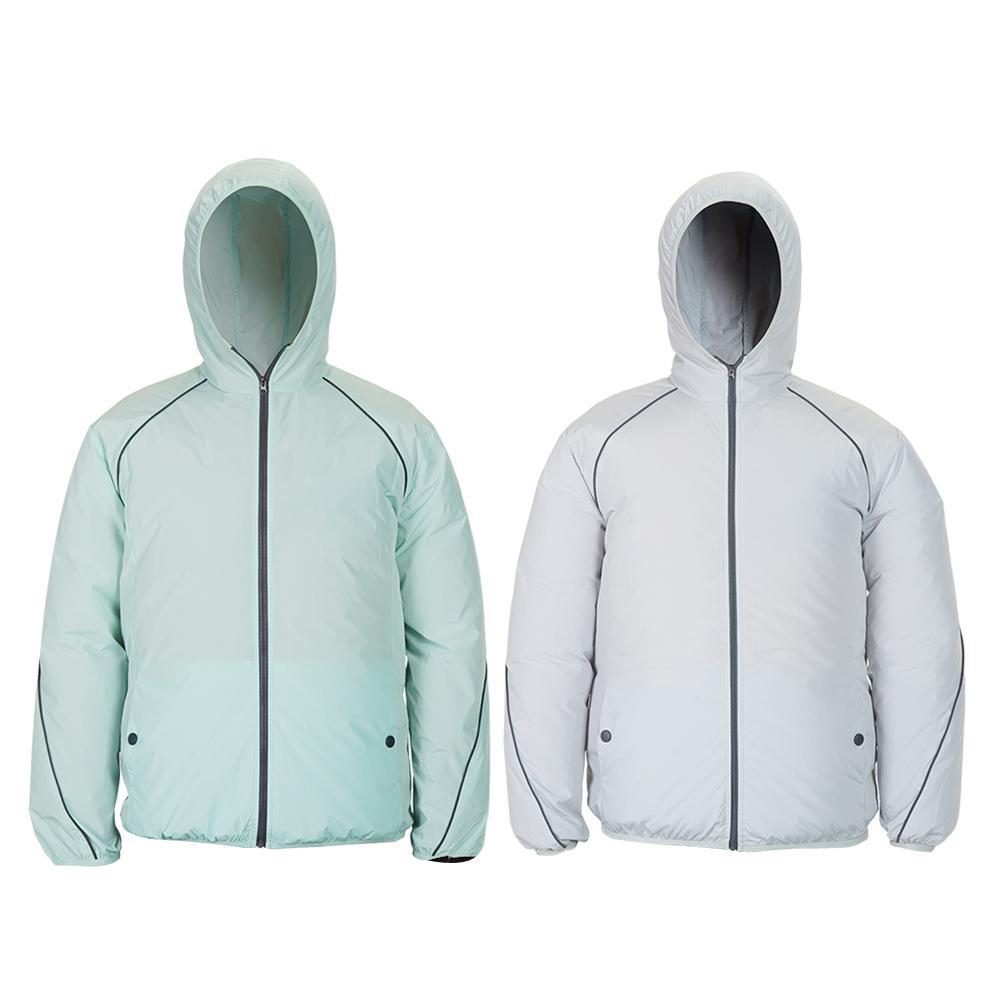 pesca jaqueta de resfriamento reflexivo ventilador lavavel ar condicionado roupas protecao solar roupas para escalada trabalhador