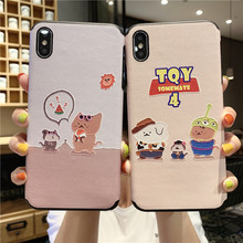 Jamular Lovely Phone Cases for iPhone XS Max X XR Cute Animals Soft Cover Case iphone 7 8 Plus 6 6S Back Fundas Capa
