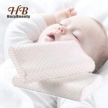 Memory Foam Baby Pillow Orthopedic Neck Protector Sleeping Memory Foam White Pillows Super Soft Bed Pillow for Children 40x25cm