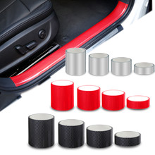 5d fibra de carbono nano cola adesivo do carro protetor filme borda da porta de proteção tronco do carro peitoril da porta corpo inteiro adesivo vinil acessório