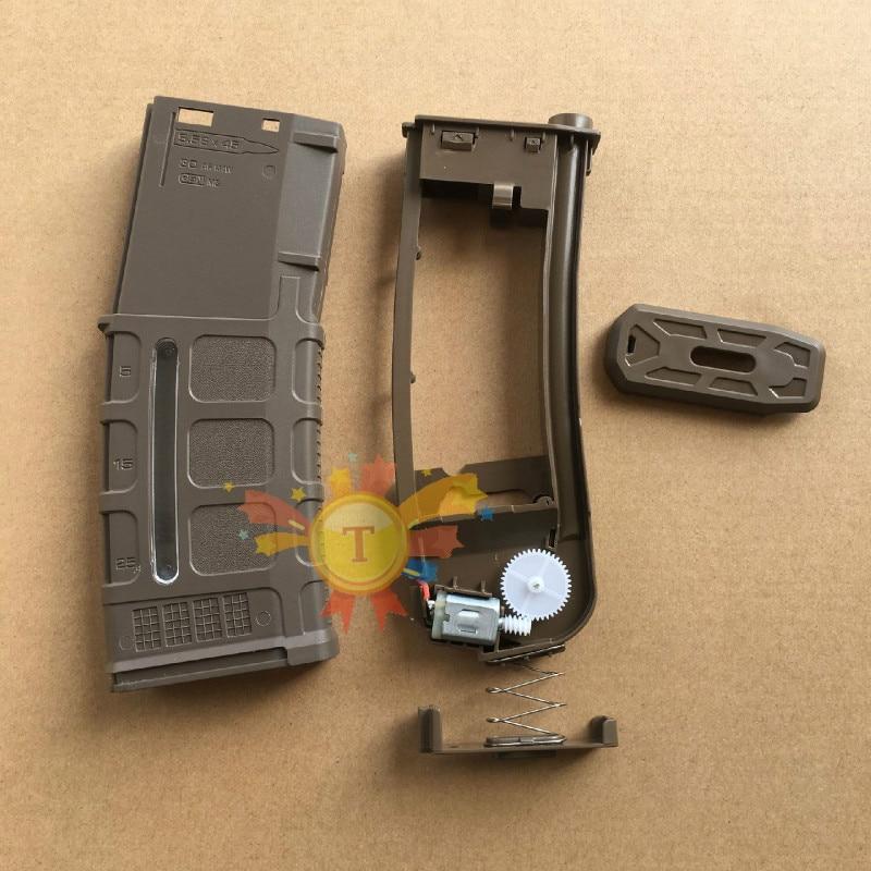 Nylon Gel Magazine For Jinming J8 J9 J10 Gel Ball Water Games Toy Guns Replacement Accessories
