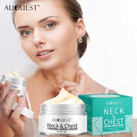 AuQuest Neck Chest Wrinkle Firming Cream Anti Aging Anti Wrinkle Remover Skin Repair Lifting Tighting Neck Cream Skin Care