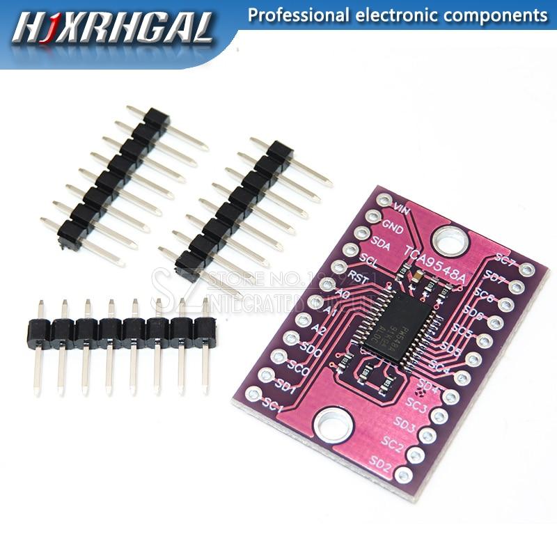 1 pièces CJMCU-9548 TCA9548A 1-to-8 I2C carte dextension multicanal 8 voies carte de développement de module IIC