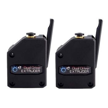 2PCS 3D Printer Extruder Dual Drive BMG Cloned Bowden Accessories 1.75mm Filament Universal Dual Drive Extruder For 3d printer 3d printer parts bmg extruder clone dual drive extruder upgrade bowden extruder 1 75mm filament for 3d printer cr10