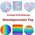 Креативная игрушка-антистресс с пузырьками, игрушка-антистресс, игрушка для взрослых и детей