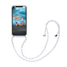 CARPRIE Phone Case Lanyard Neck Strap Retractable String Phone Cover Case for iPhone 11 Pro Easy Access Slim Simple Cover(China)