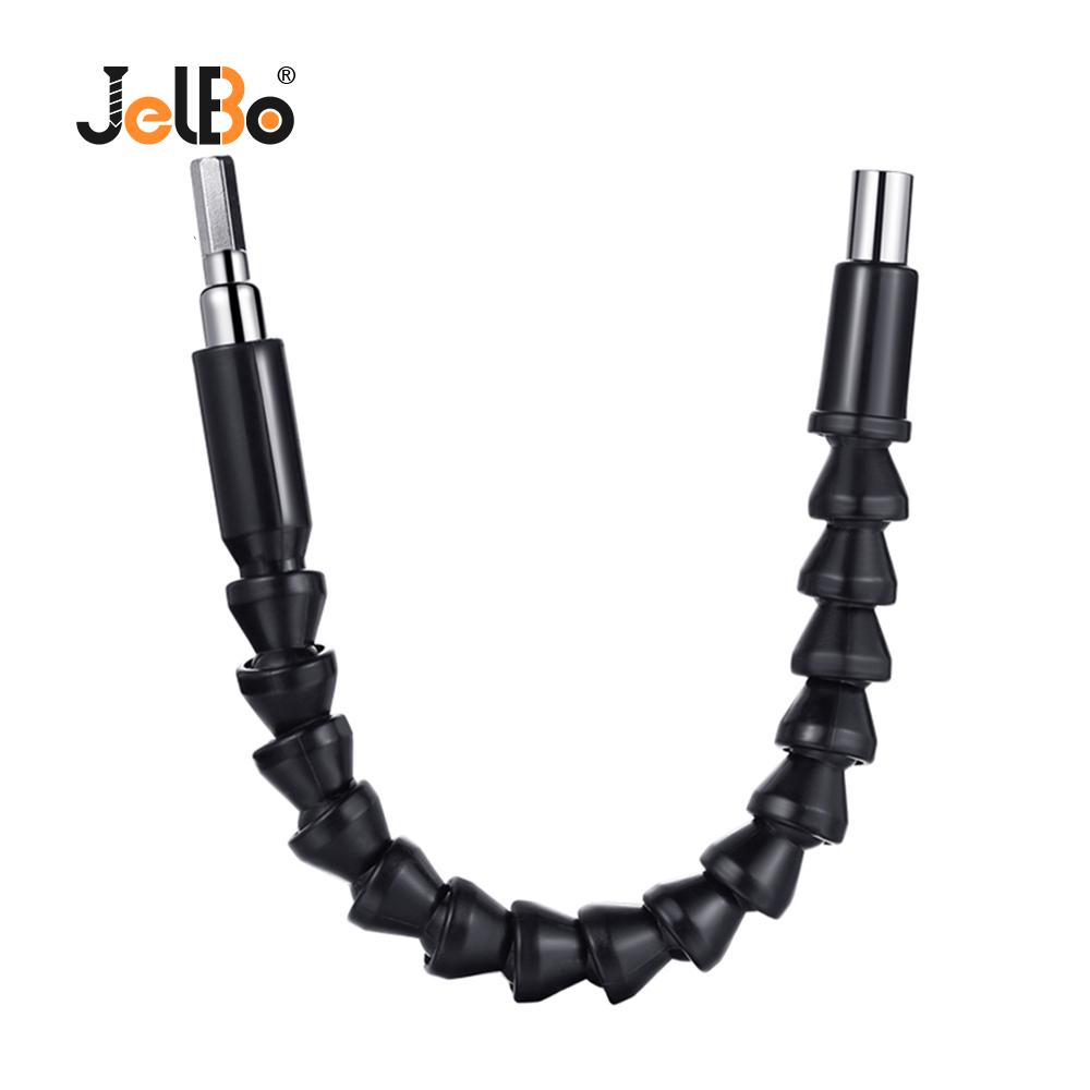 JelBo Hex Shaft Flexible Extension Drill Bit Holder With Magnetic Connect Drive Shaft Electric Power Drill Bit Tool Accessories