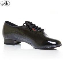 Sapatos de dança padrão masculino bd 309 brilhando divisão única sapatos dança de salão moderno dança dança dança dança sapatos interior