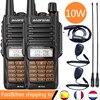 2PCS Walkie Talkies Waterproof Baofeng UV-9R PLUS 10W Portable CB Ham Radio Transceiver VHF UHF  2 Way Radio uv9r plus Hunt 10KM