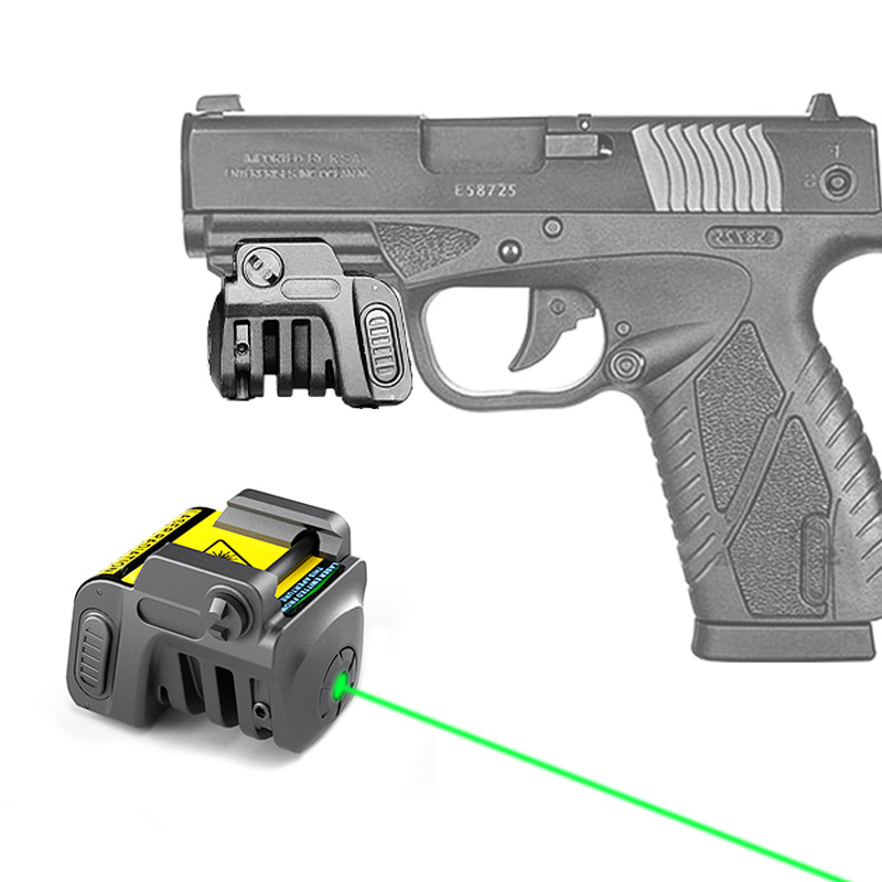 Self Defence Weapons Beretta Colt 1911 Mira Green Pistol Laser Sight Rechargeable Tactical Mira Laser Para For Picatinny Glock