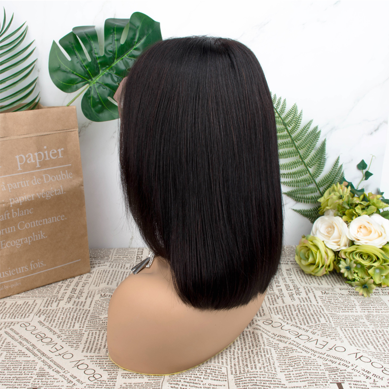 Short Bob Wig Lace Front Human Hair Wigs Short Human Hair Wigs Brazilian Straight Lace Wig For Black Women Dorisy Remy Hair Wig