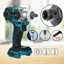 Adapted Battery Electric-Screwdriver Rechargable-Driver Cordless Impact Makita To 18V