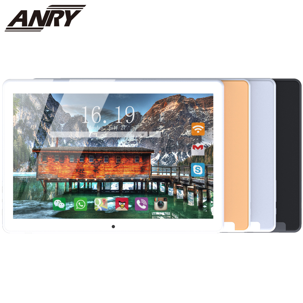 ANRY 10 Inch Tablet Android 7.0 4G Lte Phone Call WiFi Tablets 5000mAh Battery Octa-Core Processor Bluetooth GPS 1.5GHz
