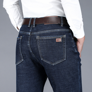 Image 5 - NIGRITY 2019 erkek yeni sıcak pazen kot streç rahat düz kot polar kot yumuşak pantolon pantolon artı boyutu 29 44 2 renk