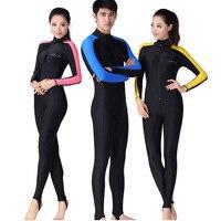 Men Women One piece Lycra Diving Wetsuit Long Sleeve Scuba Snorkeling Diving Suit Rash guard UPF 50+ Anti UV Sunscreen Swimwear