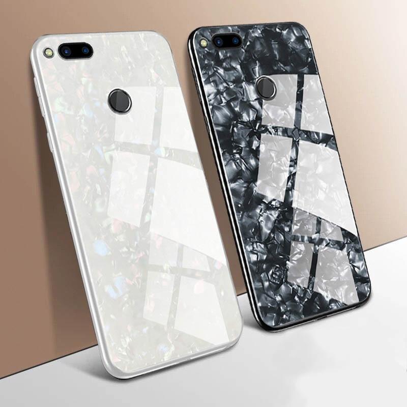 For Xiaomi Mi 9t Case Mi9t Pro Cover On Xiomi Redmi Note 7 K20 Pro MI 8 SE Max3 Luxury Glitter Tempered Glass Hard Marble Case