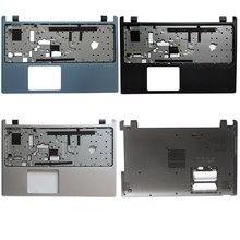 Novo não-toque caso capa para acer aspire V5-531 V5-531G V5-571 V5-571G palmrest bezel teclado/portátil inferior base caso capa