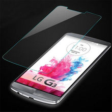 Tempered Glass For LG G3 D855 D850 / Stylus D690 / Beat D722 D724 Mini / LGG3 Optimus Screen Protector Guard Protective Film(China)