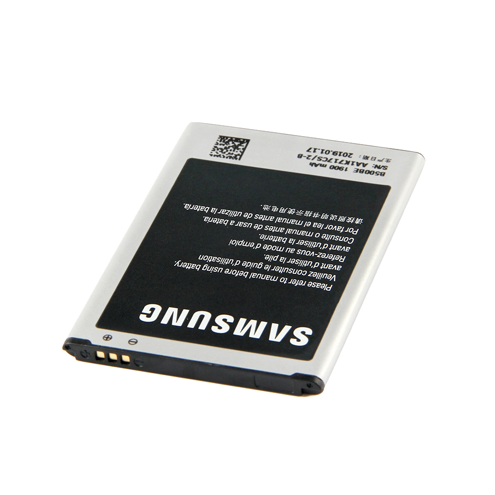 Image 3 - 100% Original Battery B500BE for Samsung Galaxy S4 Mini GT I9190 I9192 I919 I9195 I9198 1900mAh Phone Batteria with NFC B500BU-in Mobile Phone Batteries from Cellphones & Telecommunications on