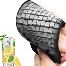 160 Grid Silicone Ice Cube Tray Mini Crushed Ice Cubes Creative Small Square Shaped Mold Crushed Ice Maker Mould Kitchen Tools