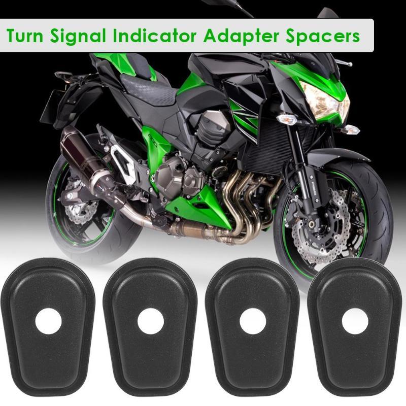 4Pcs Motorcycle Turn Signal Adapter Spacers For Kawasaki Z1000 2007-2018