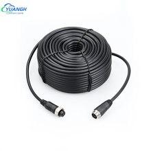4 контактный разъем авиационный видео кабель удлинитель 5 10