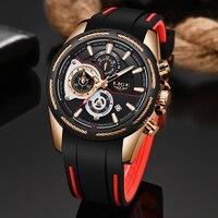 2019 LIGE Neue Herren Uhren Top Brand Luxus Mode Business Uhr Männer Wasserdichte Automatische Datum Quarz Uhr Relogio Masculino-in Quarz-Uhren aus Uhren bei