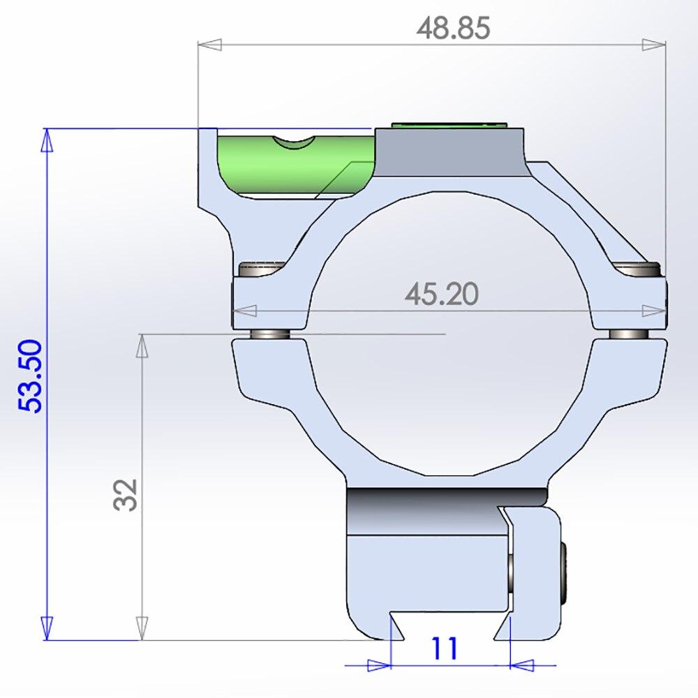 bússola espírito bolha nível 2 modelos opcional