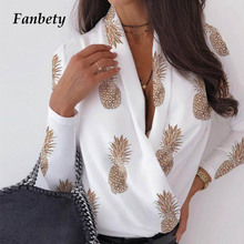 Office Lady sexy Ruched Blouse Shirts women