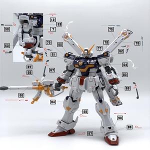 Image 2 - Pegatinas de calcomanía de agua DIY para Bandai RG 1/144 X1, crosbone Gundam X1, piezas de pegatinas modelo