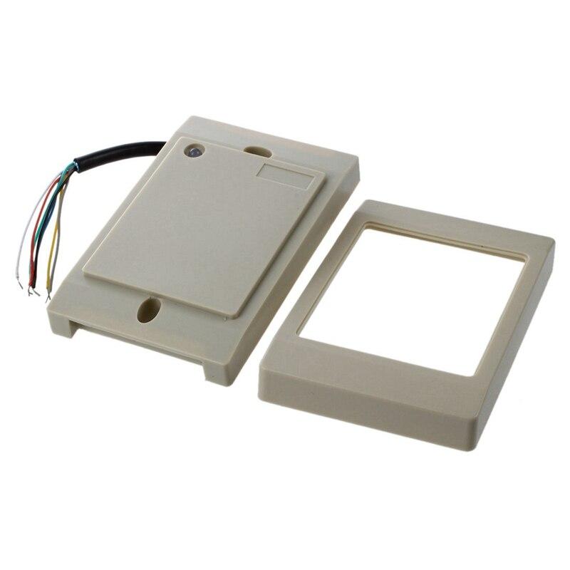 Proximity RFID reader door lock ID system access control Reader white Access Control Accessories     - title=