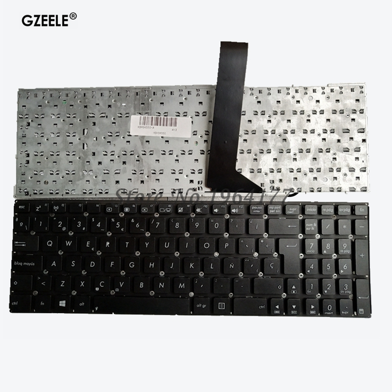 Spainsh Laptop Keyboard For Asus K550 A550 Y581 X550V X552C X550 X550C X550L F501 F501A SP Keyboard