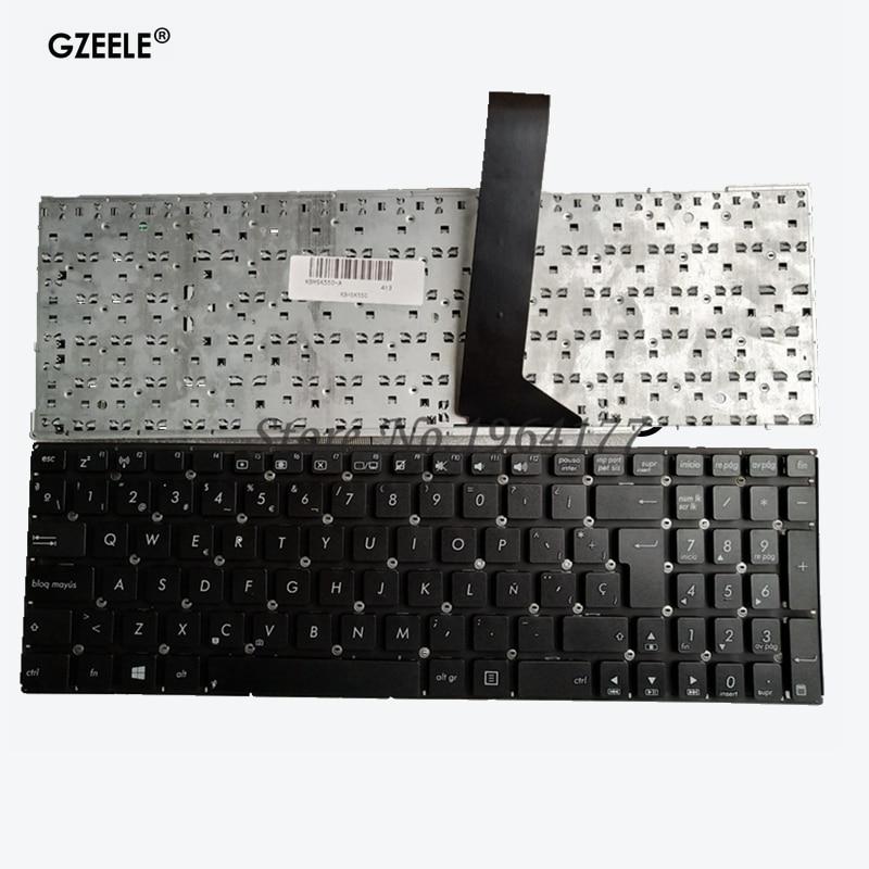 Spainsh Laptop Keyboard For Asus K550 A550 Y581 X550V X552C X550 X550C X550L F501 F501A SP Keyboard