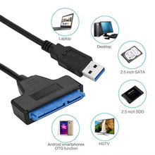цены USB 3.0 SATA 3 Cable Sata to USB Adapter Up to 6 Gbps Support 2.5 Inches External SSD HDD Hard Drive 22 Pin Sata III Cable