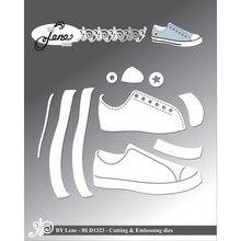 Craft Cut Die Cutting-Dies Scrapbooking-Stencil Embossing New-Shoes Metal Diy-Card Handmade