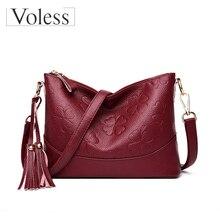 New Women Messenger Bags 2019 Zipper Crossbody Bags for Women Leather Handbags Luxury Brand Female Vintage Bag Bolsa Feminina